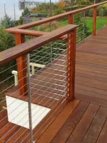 Wire Handrail Cable Rail By Feeney Capps Home Building Center