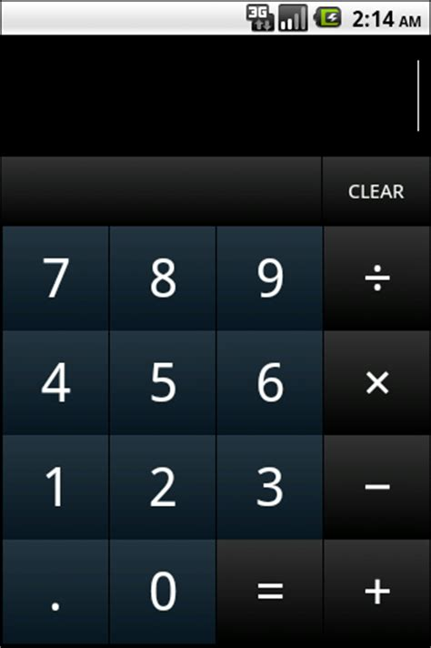 android calculator android dom android button tutorial
