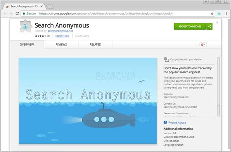 Anonymous Search Remove The Search Anonymous Search Myprivacyswitch Extension
