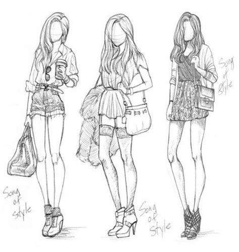 design clothes model draw picoftheday fashion style swag shoes model