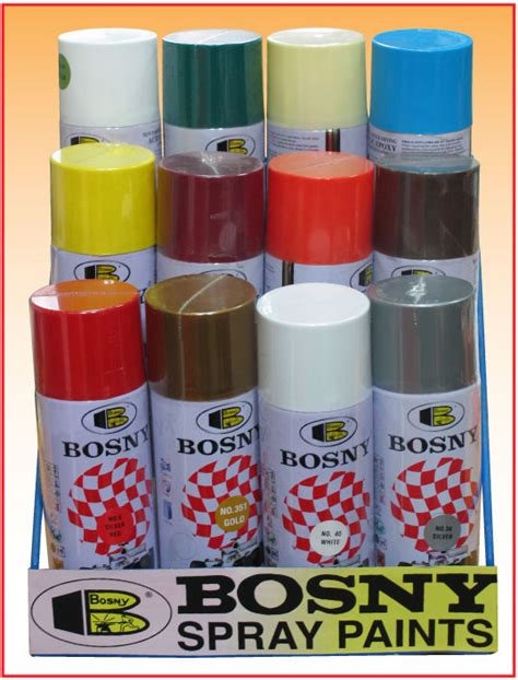 bosny spray paint