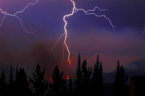 can lights cause fires lightning sparking more boreal forest fires climate