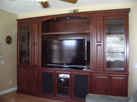 hand crafted built in wall unit for widescreen tv in built in entertainment center custom wall units
