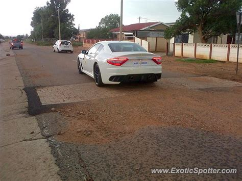 maserati in south africa maserati granturismo spotted in klerksdorp south africa