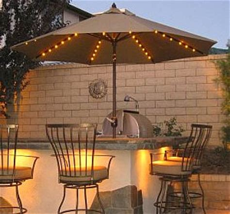 lighted patio umbrella the best patio umbrella for your backyard