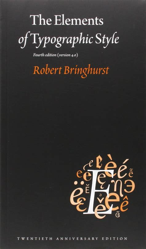 the elements of typographic 0881792128 cheapest copy of the elements of typographic style version 4 0 20th anniversary edition by