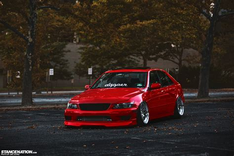 stanced lexus is300 related keywords suggestions for red is300