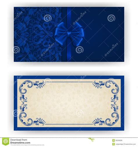6 Best Images Of Royal Blue Wedding Background Royal Blue Pocket Wedding Invitations Royal Blank Invitation Cards Templates Blue
