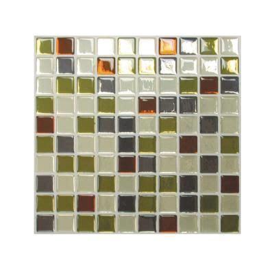 kitchen back splash idea 9 85 in x 9 85 in idaho mosaic