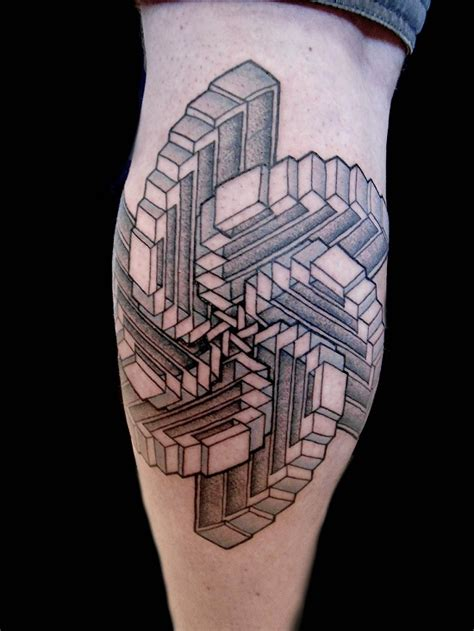 illusion tattoos designs optical illusion tattoos designs ideas and meaning