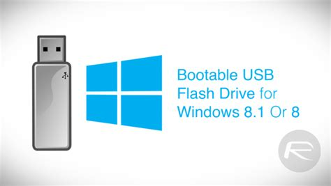make windows 8 1 8 bootable usb flash drive the easy way