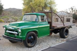 1956 classic chevy 1 1 2 ton dually stake and platform