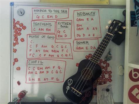 Kitchen Sink Guitar Chords 17 Best Ideas About Twenty One Pilots Songs On