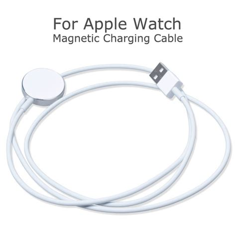 Apple Magnetic Charging Cable 1m Original Berkualitas new arrive white magnetic contact charging cable original wireless charging for apple usb