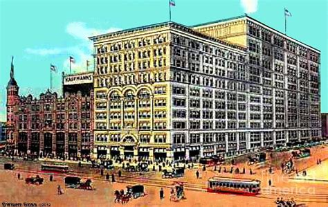 kaufmann s department store images of america books kaufmann s department store in pittsburgh pa in 1915