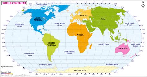 printable world map showing continents and oceans printable world map showing continents and oceans