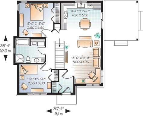 cozy cottage floor plans cozy cottage with choices 21872dr architectural