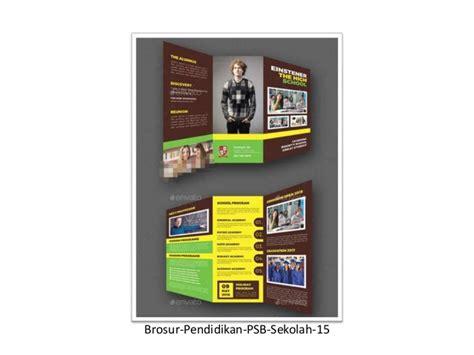 download desain brosur download desain template desain 17 brosur sekolah contoh desain template download