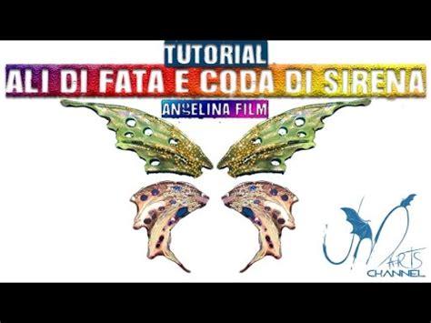 tutorial ali farfalla fimo diy fimo liquid tutorial come fare le ali di fata e coda