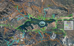 Summer Vacation Homes For Rent - maps hiking map of big bear valley