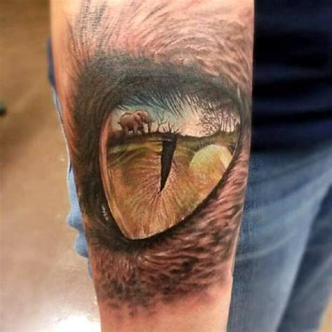 eye tattoo with reflection eye tattoos and designs page 108