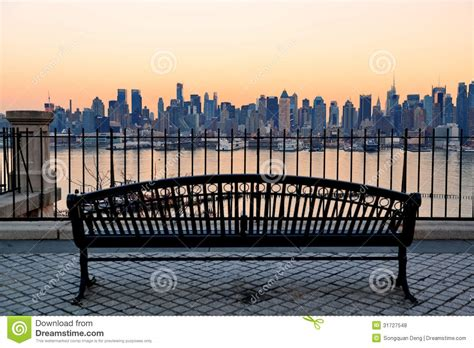new york bench new york city royalty free stock photos image 31727548