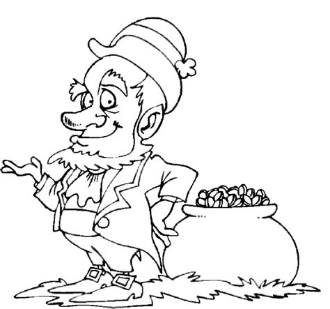 Leprechaun Coloring Pages Coloring Pages To Print Leprechaun Coloring Page