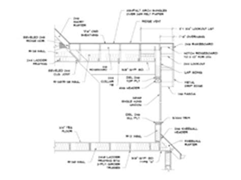 dormer window section photo collection dormer detail drawing cad