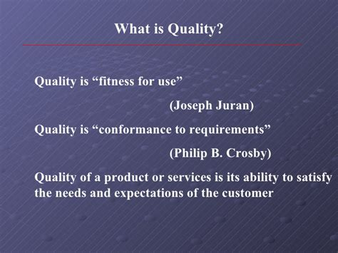 Explain Quality Quality Improvement In Service Industry
