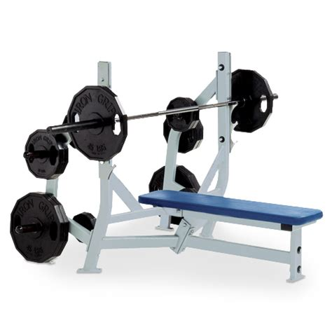 used olympic weight bench olympic bench weight storage plate loaded fitness