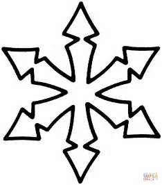 snowflake coloring pages simple snowflake coloring pages az coloring pages