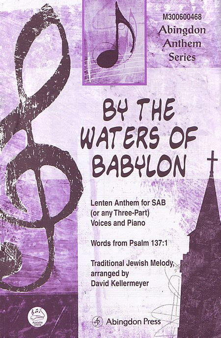 by the waters of babylon characters gradesaver by the waters of babylon sheet music by david kellermeyer