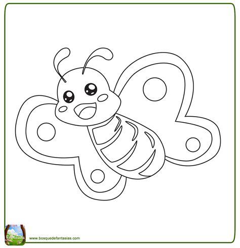 imagenes infantiles tiernas para colorear 99 dibujos de mariposas 174 mariposas para colorear infantiles
