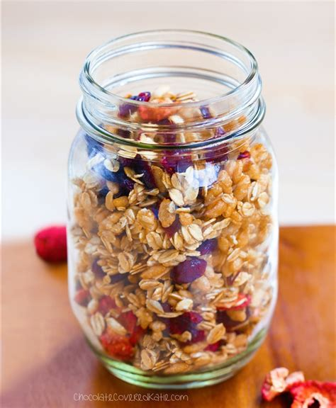 healthy fats non dairy low granola no required
