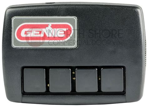 4 Button Garage Door Opener by Genie Gidfx4 Four Button Commercial Garage Door Opener