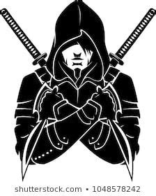 Hooded Armed and Dangerous | Logotipo de arte, Ilustrações