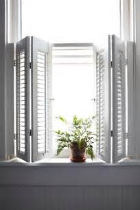 Kitchen Window Shutters Interior by Interior Shutters Window Treatments Pinterest