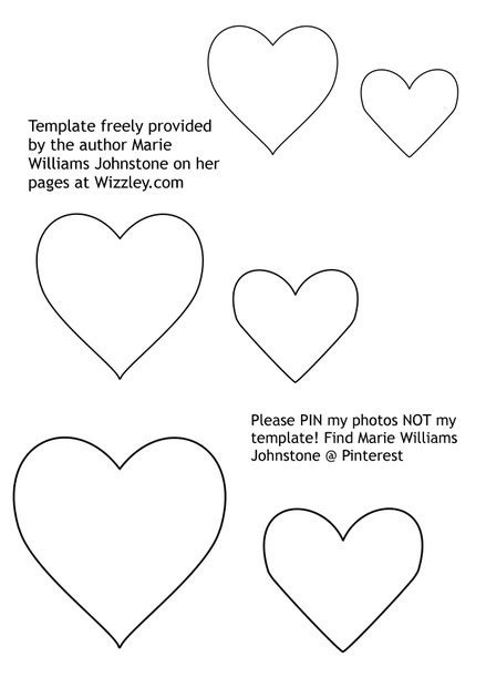 How To Make Stuffed Felt Hearts Tutorial Felt Shapes Templates