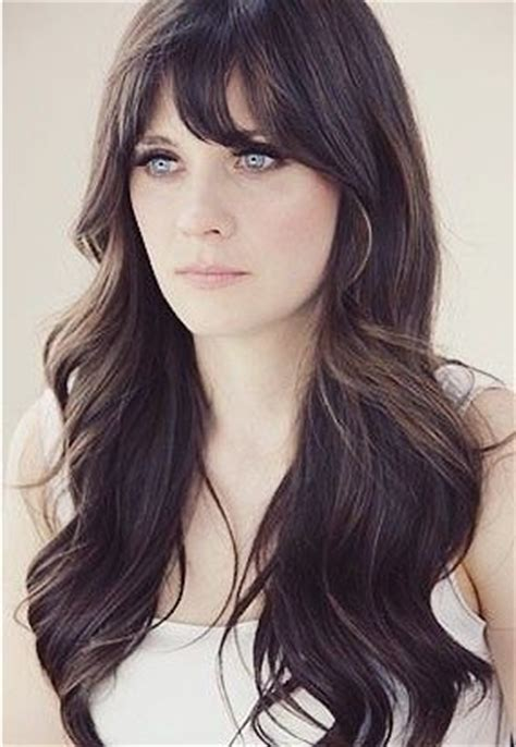 brunette long hairstyles with bangs 5 glamorous hairstyles for thin hair pretty designs