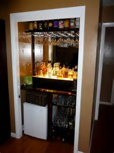 Turning Closet Into Bar | jigsaws and ginger this is the bar that jack built ya ll