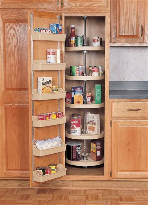 Lazy Susan In Pantry by 18 Quot Circle Pantry Lazy Susan Almond Five Shelf Set W Hardware 6065 18 15 52 Rev A Shelf