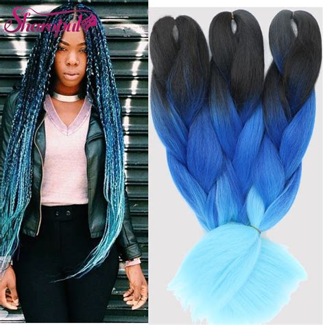 buy blue kanekolin hair popular purple hair extension buy cheap purple hair