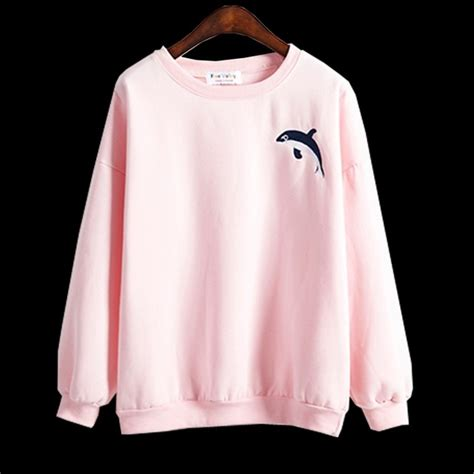 Kawai Sweater Pink pink sweaters baggage clothing