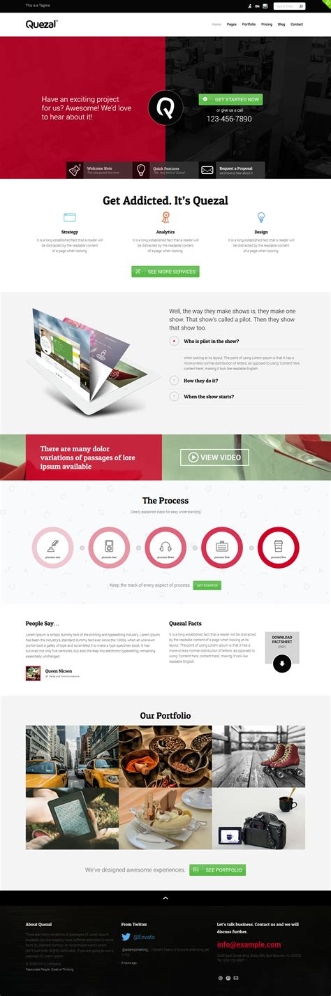 themeforest quezal quezal software responsive wordpress theme by tansh