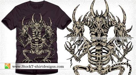 Tshirt Kaos Bone vector t shirt design with skeleton vector t