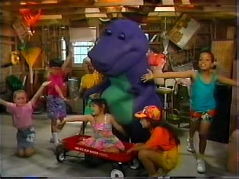 barney and the backyard gang the complete series talk the backyard show barney wiki