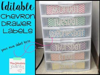 Best 25 Drawer Labels Ideas On Pinterest Teacher Paper Organization Owl Labels And Closet Labels Sterilite Drawer Label Template
