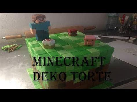 minecraft kuchen rezept minecraft deko torte fondant white icing konditor show