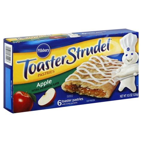 Pillsbury Toaster Strudel pillsbury toaster strudel apple 6 ct