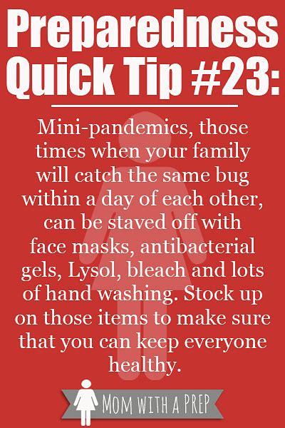 preparedness quick tip  fight   mini pandemic